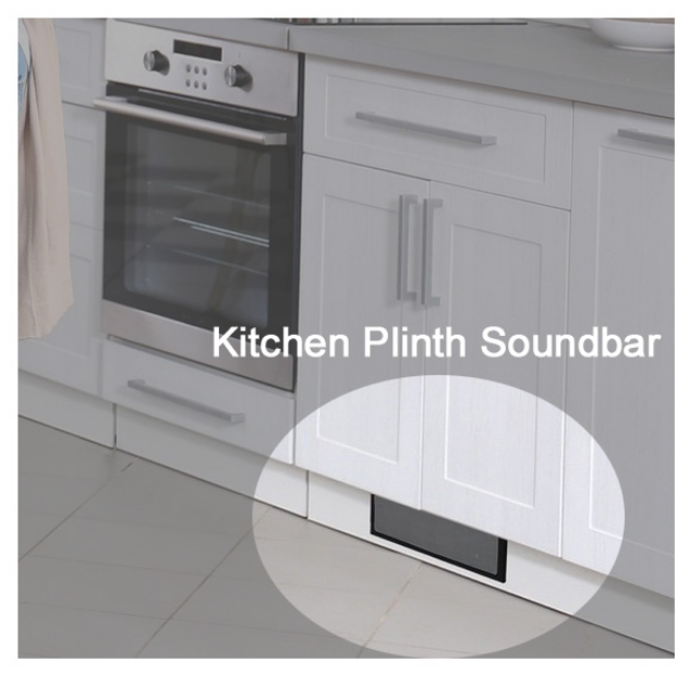 A Sound System Designed For Installation In The Plinth Of Your
