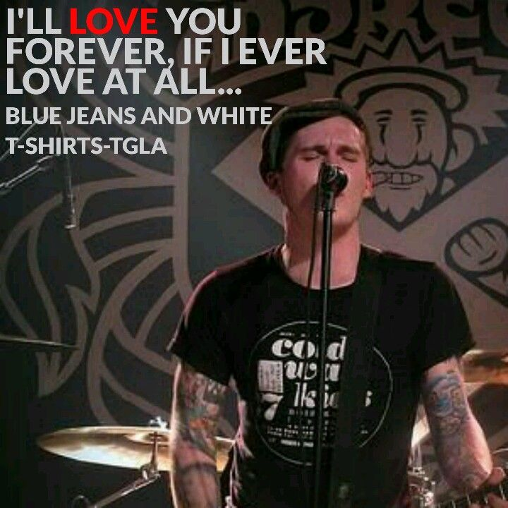 Blue Jeans and White T-shirts- The Gaslight Anthem. Brian Fallon ...