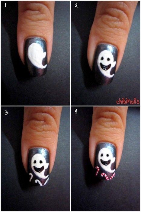 Halloween Nail Art Nail Art Pinterest Nail Nail Holidays And