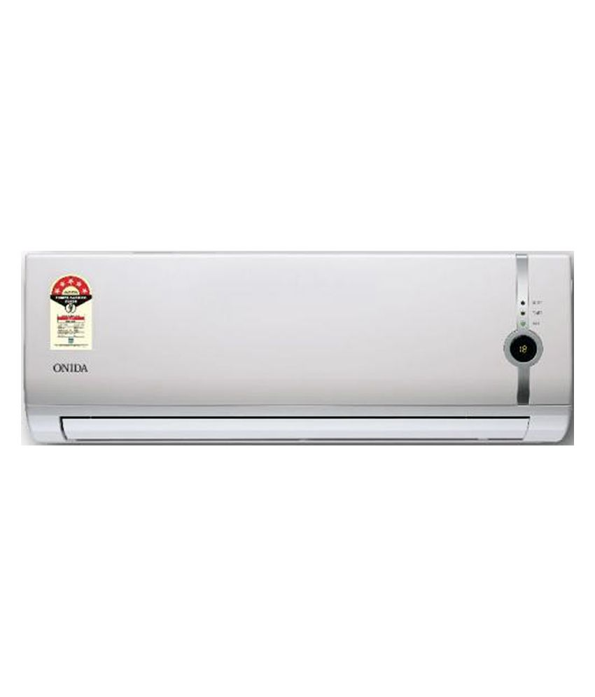 Onida 1 0 Ton 3 Star S123flt L Power Flat Split Air Conditioner Copper Condenser 10 Feet Free Piping Air Air Conditioner Prices Rotary Compressor Stuff To Buy