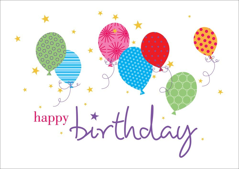 Wallpaper Balloons | Greeting cards birthday, Birthdays and Happy ...