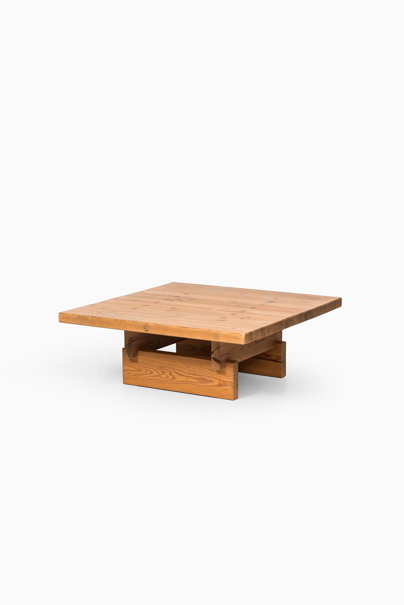 Roland Williamsson Coffee Table In Solid Pine At Studio Schalling