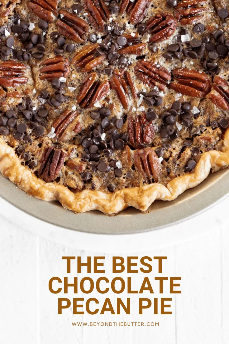 Easy Chocolate Pecan Pie Recipe Pecan Pie Chocolate Pecan Easy Chocolate