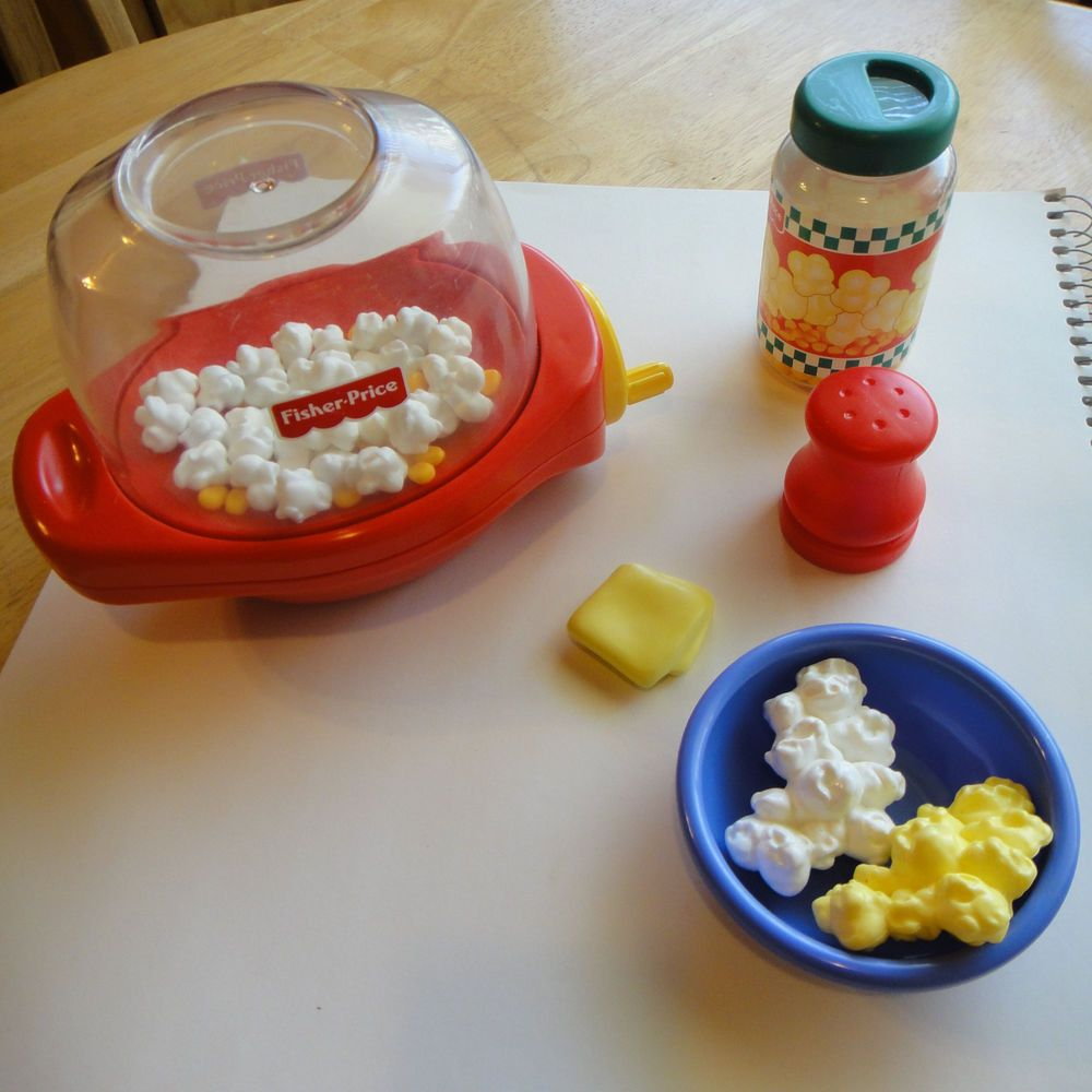 Fisher Price Play Kitchen: Fisher Price Poppity Popcorn Play Food Fun For Kitchen