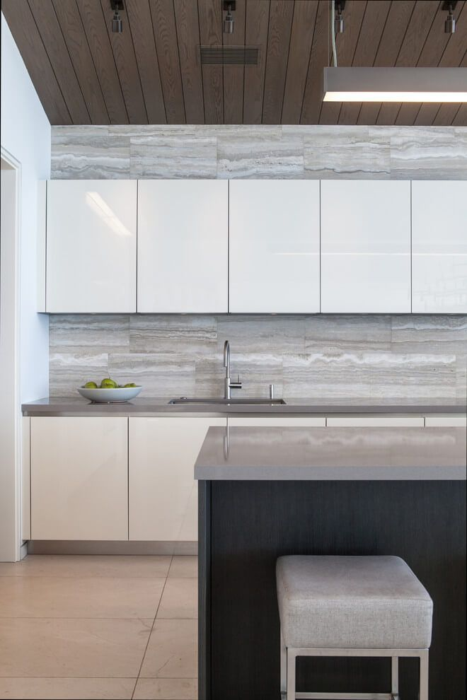 La Senda By Aria Design Contemporary Kitchen Backsplash