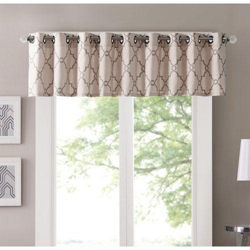 Winnett Light Filtering 50 Curtain Valance Valance
