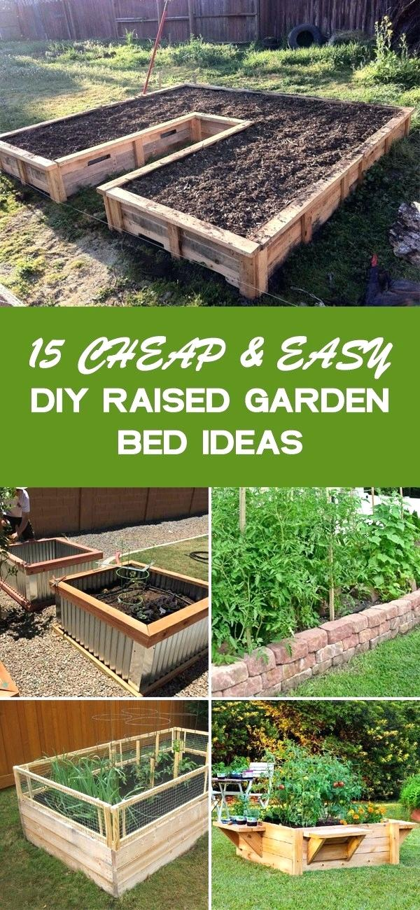 cheap raised garden beds cheap and easy raised garden bed
