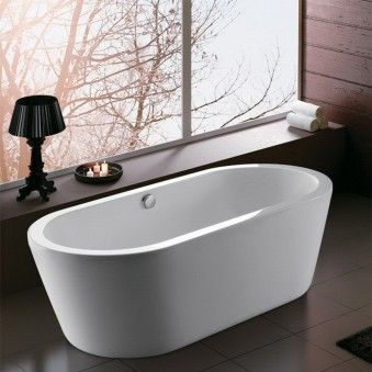 Free Standing Solid Acrylic Bathtub Air Pump And Air Jets Switch