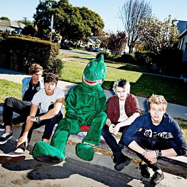 Australian pop-punk boy band 5 Seconds of Summer
