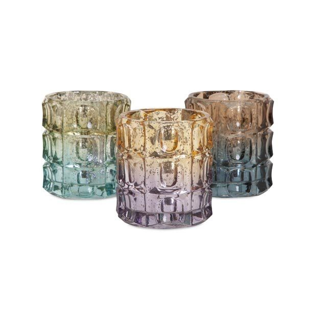 Tampico Glass Candleholder With Clear Box At Michael Alan Furniture
