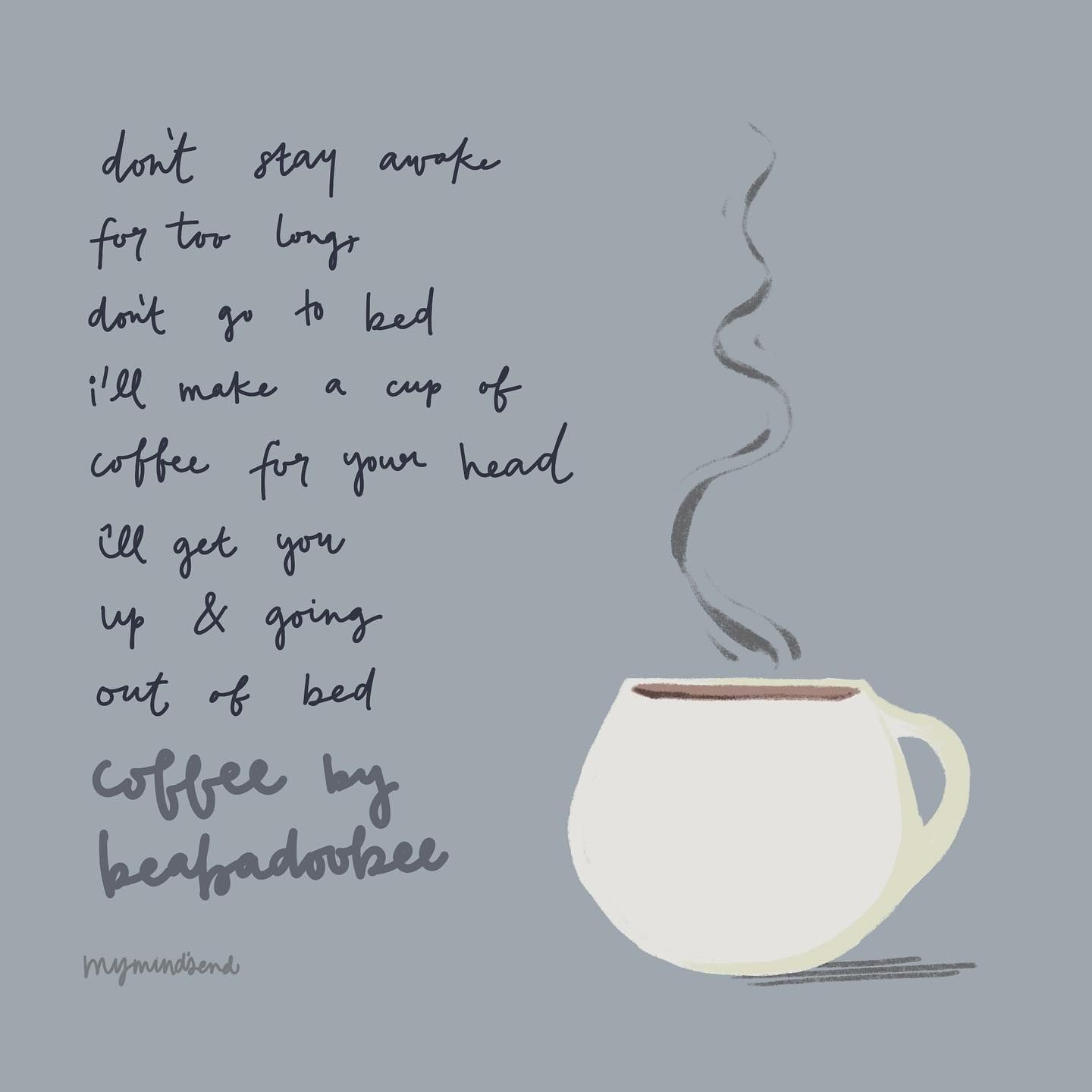 Coffee For Your Head Beabadoobee Lyrics