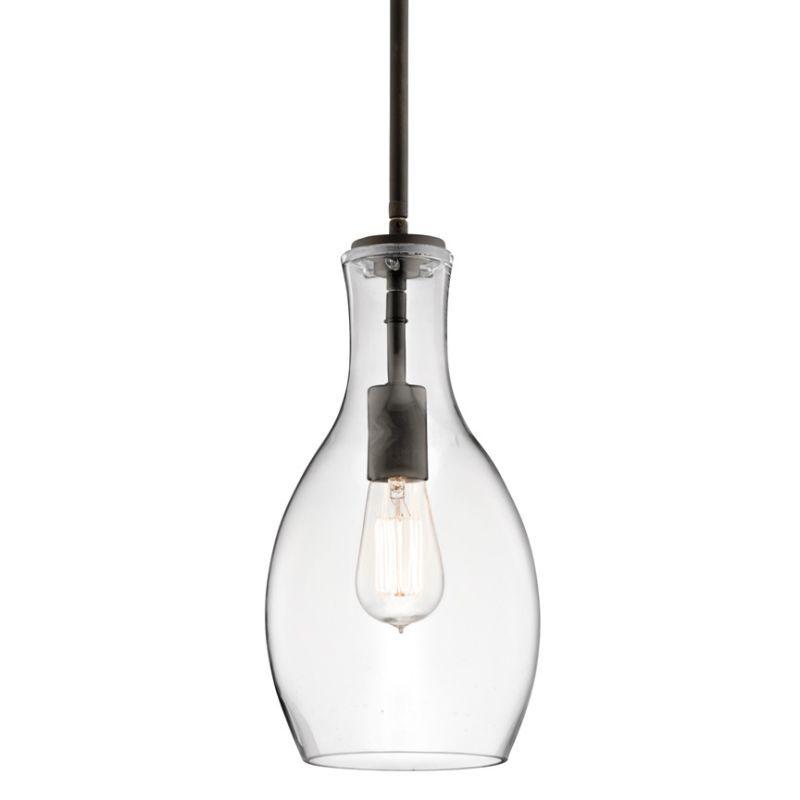 Kichler 42456clr Everly Single Light 7 Wide Mini Pendant