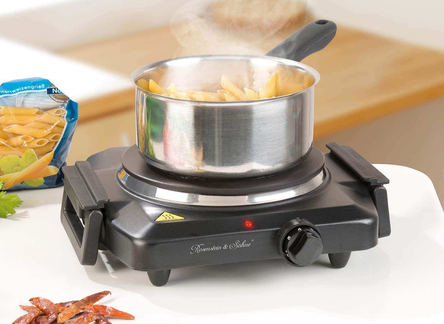 Rosenstein Sohne Kochplatte Kochstelle Heizleistung Thermostat