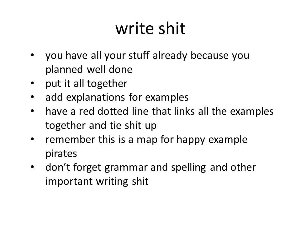 Make Essay Writing Your Bitch