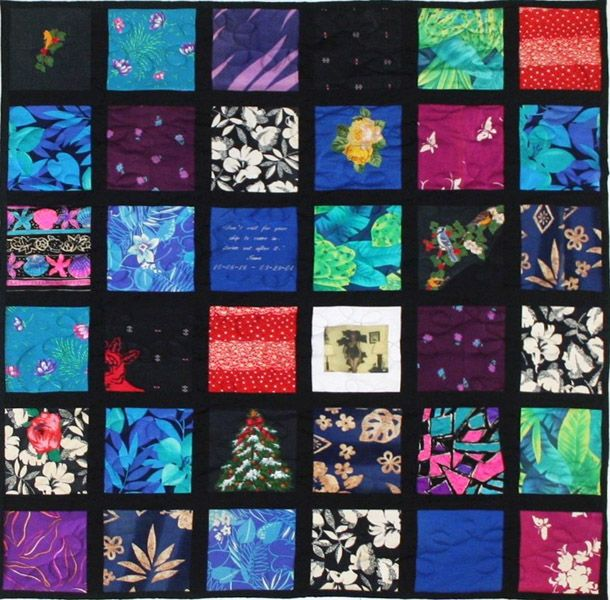 Hawaiian shirt Memory Quilt | Quilting | Pinterest | Hawaiian ... : campus quilts coupon - Adamdwight.com