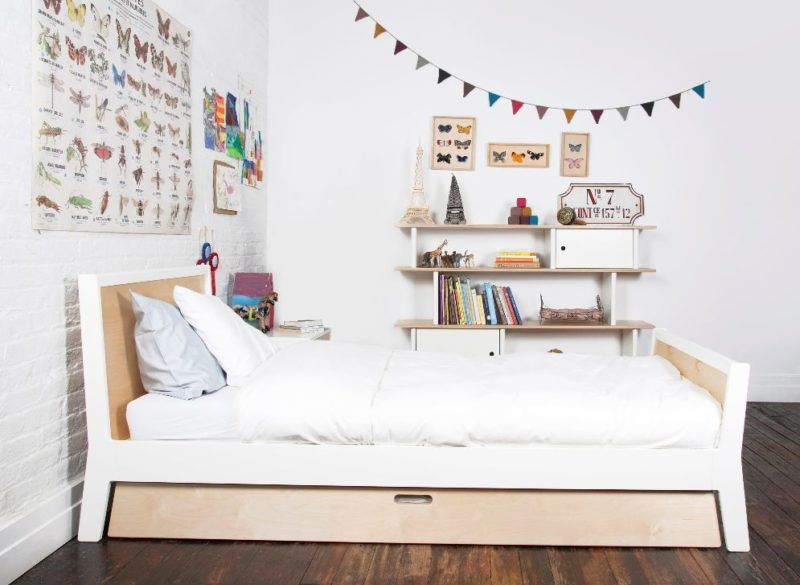 Best Trundle Beds Roundup Clean Minimalist Birch Trundle Bed By