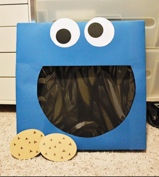 Valentine Card Holders – Cookie Monster Valentine Cards