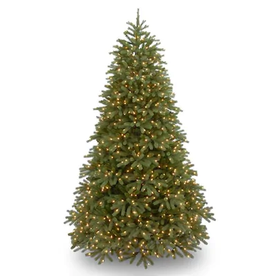 National Tree Company 6 5 Ft Pre Lit Jersey Fraser Fir Medium Tree With Clear Lights At Lowes Com Pre Lit Christmas Tree Artificial Christmas Tree