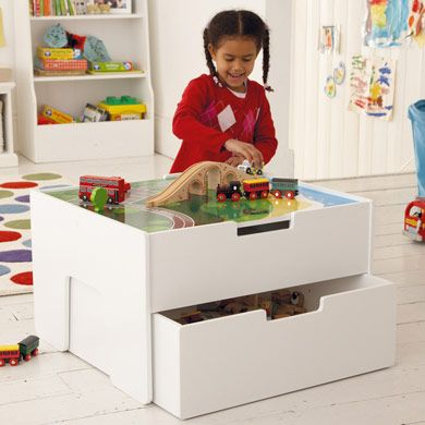 Northcote Play Table With Trundle Drawer   Fullprice   Gltc.co.uk