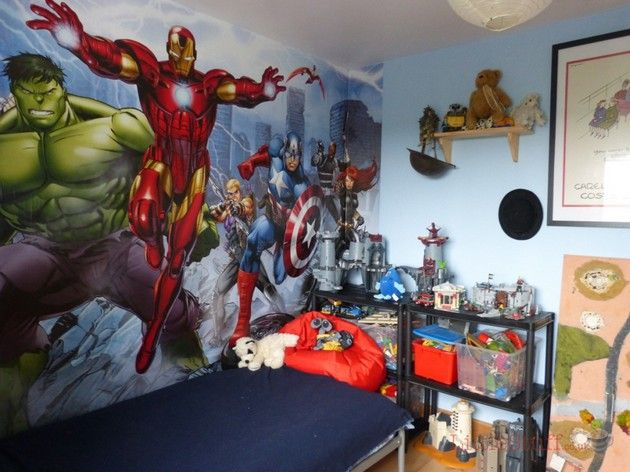 Top 20 Best Kids Room Ideas Marvel Bedroom Avengers Room Superhero Bedroom
