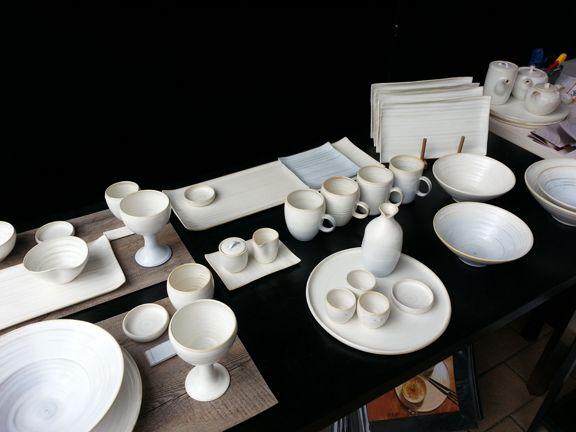Haejin Lee Chess Board Summer Fair Ceramics