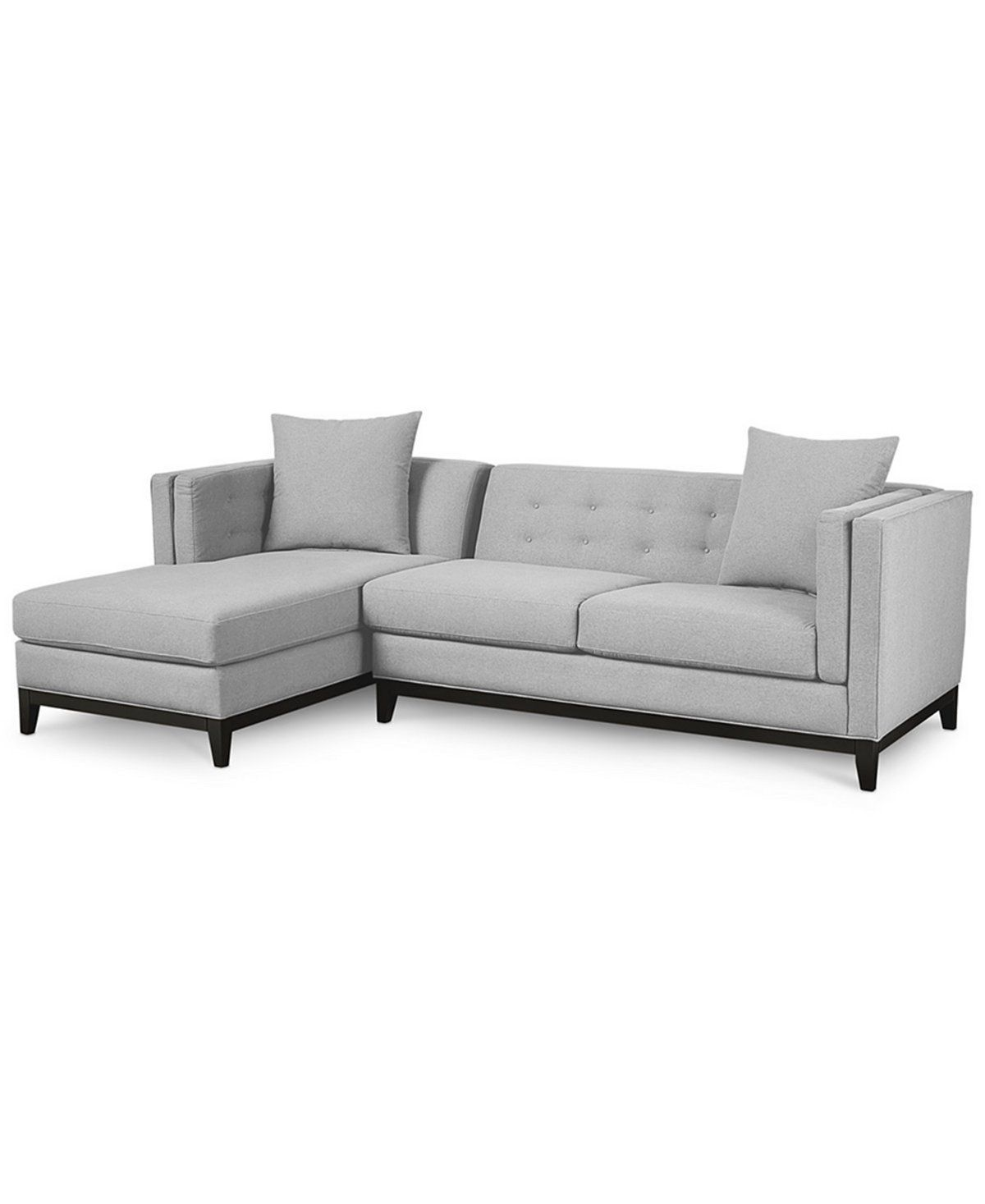 macys sofa pillows kinds of sofas braylei 2 pc sectional with chaise and toss only