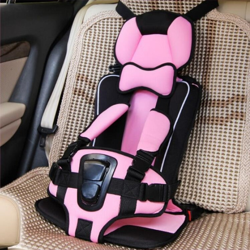 New Arrival Car Seat Cushion ChildBaby Kids Children Booster Comfortable Infant SafetyPinkOrangeRose Red