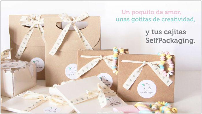 self packaging cajas y cajitas muy muy chulas para regalos bautizos bodas y