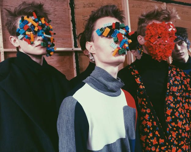 Lego Cyborgs Invade London Fashion Show | London fashion and Lego