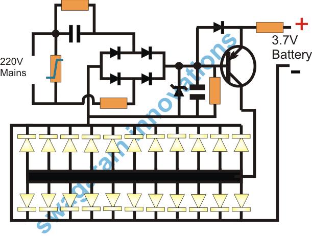 10 Automatic Emergency Light Circuits