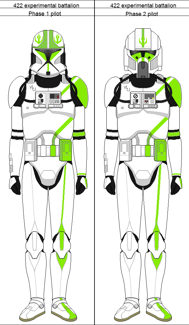 Clone Trooper Pilot Phase 1 2 By Jdfb422 Star Wars Infographic Star Wars Artwork Star Wars Art