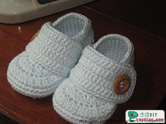 Bebeğiniz İçin Mor Bebek Patiği Yapımı