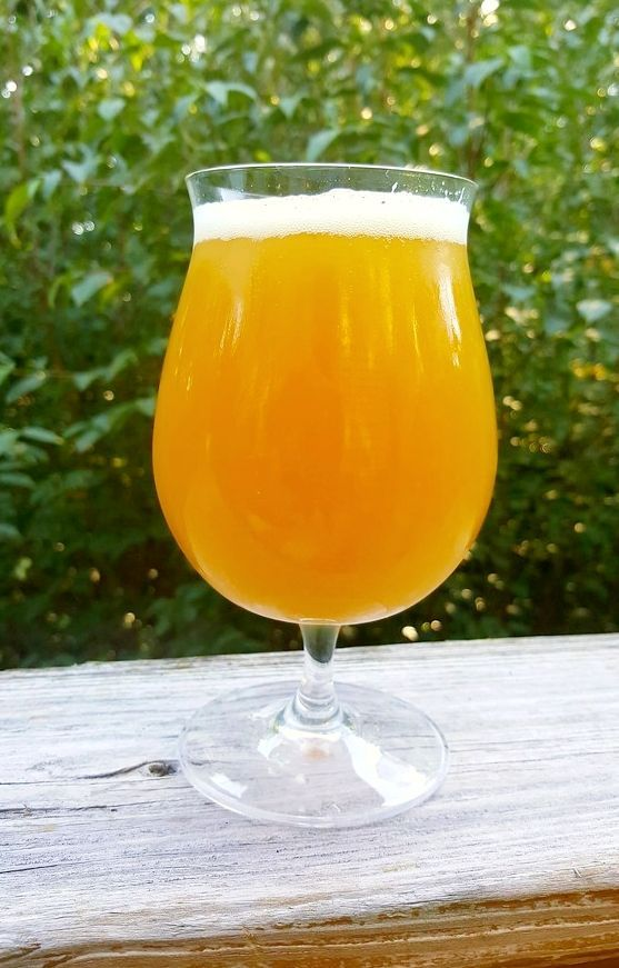 Author: Kevin Quinn   (Beer Advocate Crowd Sourced Recipe), Method: All  Grain, Style: American IPA, ABV 6.5%, IBU 61.96, SRM 5.2, Fermentables:  (Pale 2 Row, ...
