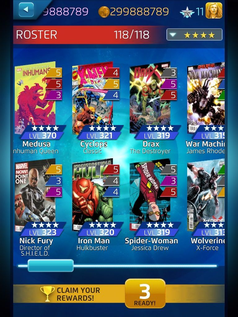 Pin On Marvel Puzzle Quest