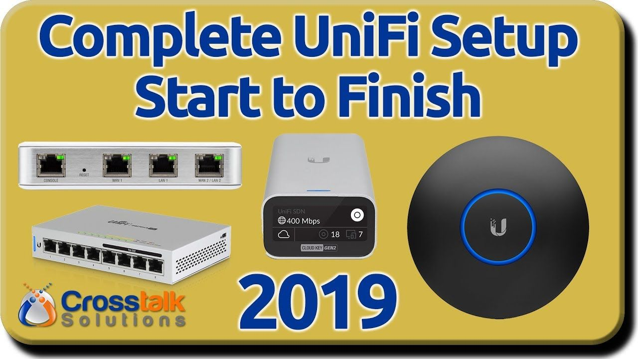 Complete Unifi Setup Start To Finish 2019 Youtube Home Network Network Attached Storage Setup