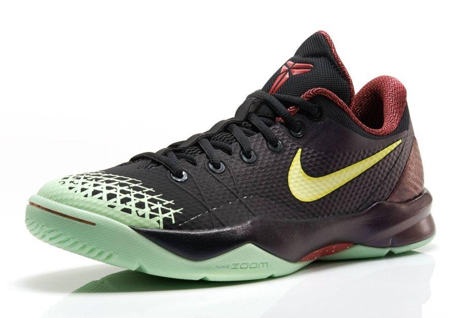 differently 03a13 9e9d9 Nike Zoom Kobe Venomenon 4  Black Lemon Chiffon-Court Purple