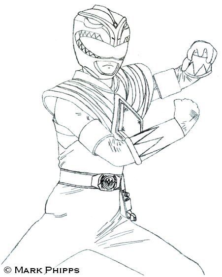 power rangers coloring pages green power ranger art power rangers - Power Rangers Coloring Book