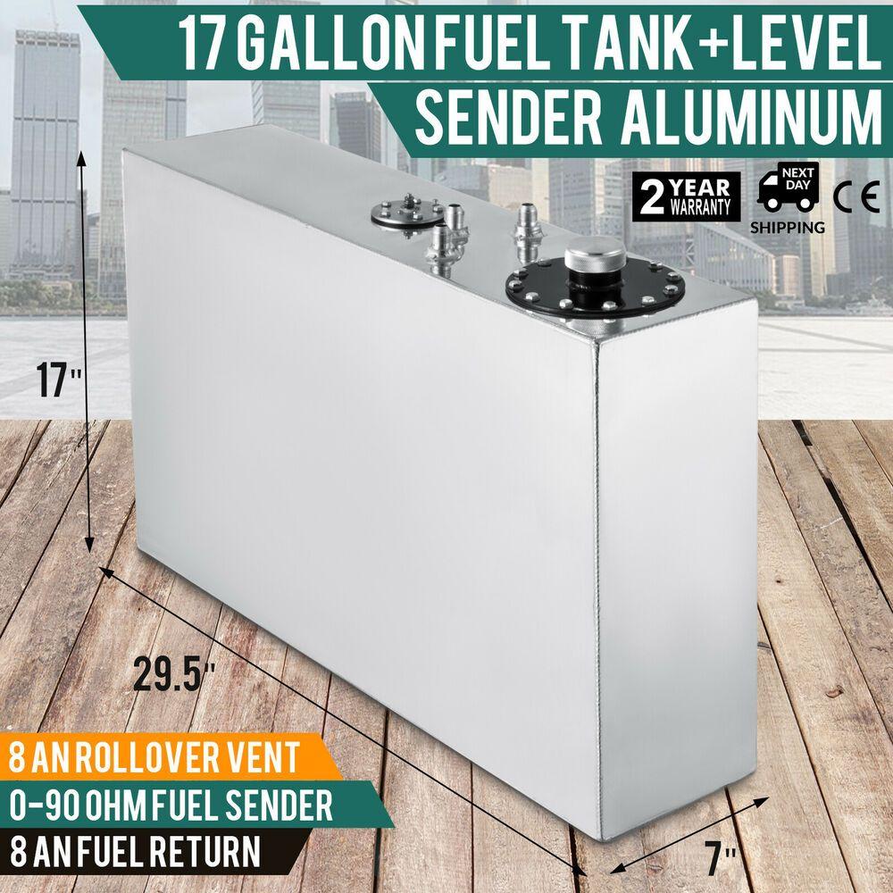 eBay #Sponsored 17-gallon aluminum fuel cell gas tanklevel