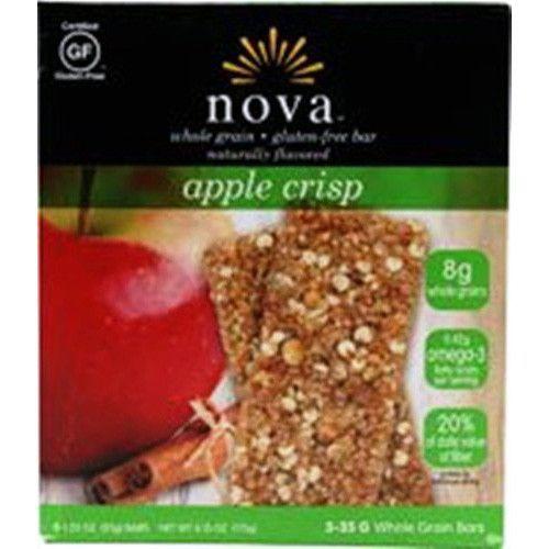 Nova Bar Whole Grain Apple Crisp 1.48 Oz (1 Case)