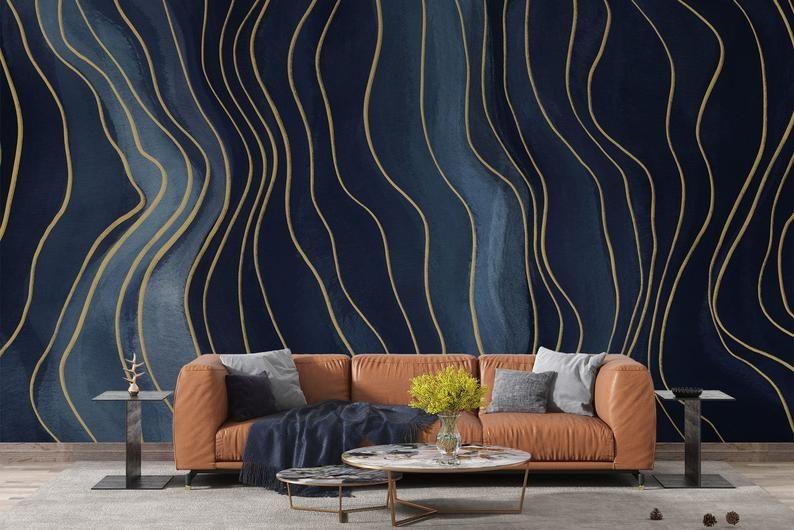 Peel And Stick Wallpaper Etsy Scandinavian Wallpaper Removable Wallpaper Peel And Stick Wallpaper
