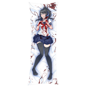 Yandere Chan Body Pillow Case Body Pillow Anime Body Pillow Yandere
