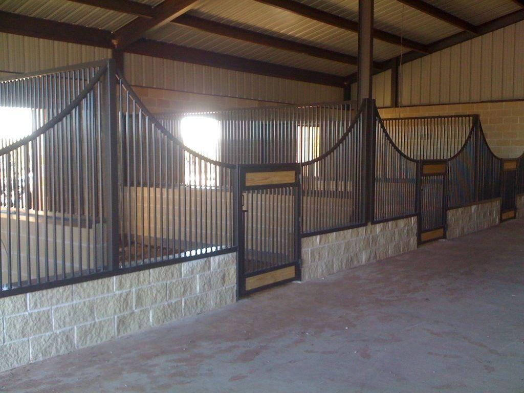 Open Stall Design Very Good Idea Horses Can T Reach