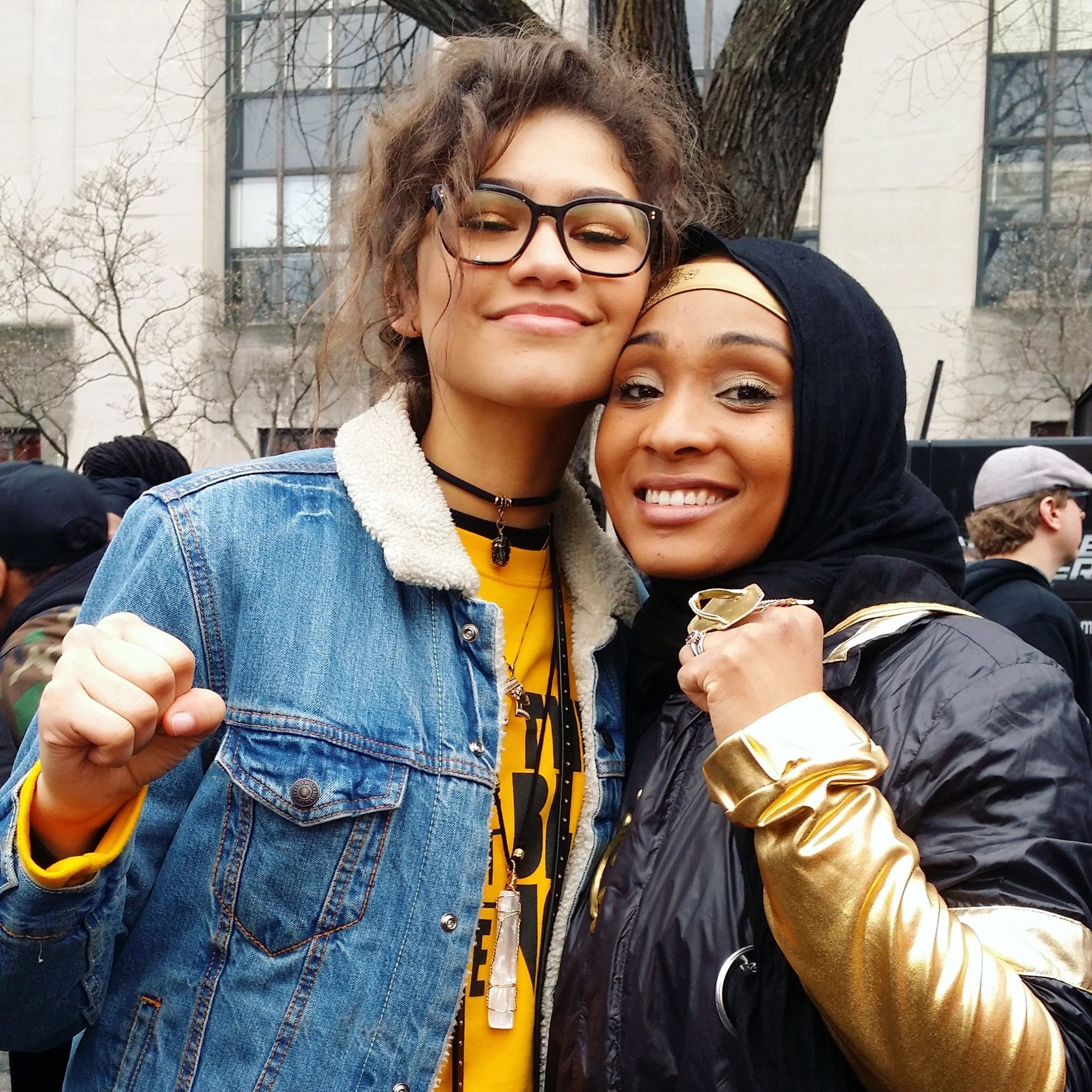 Zendaya and the Women's March in D.C.