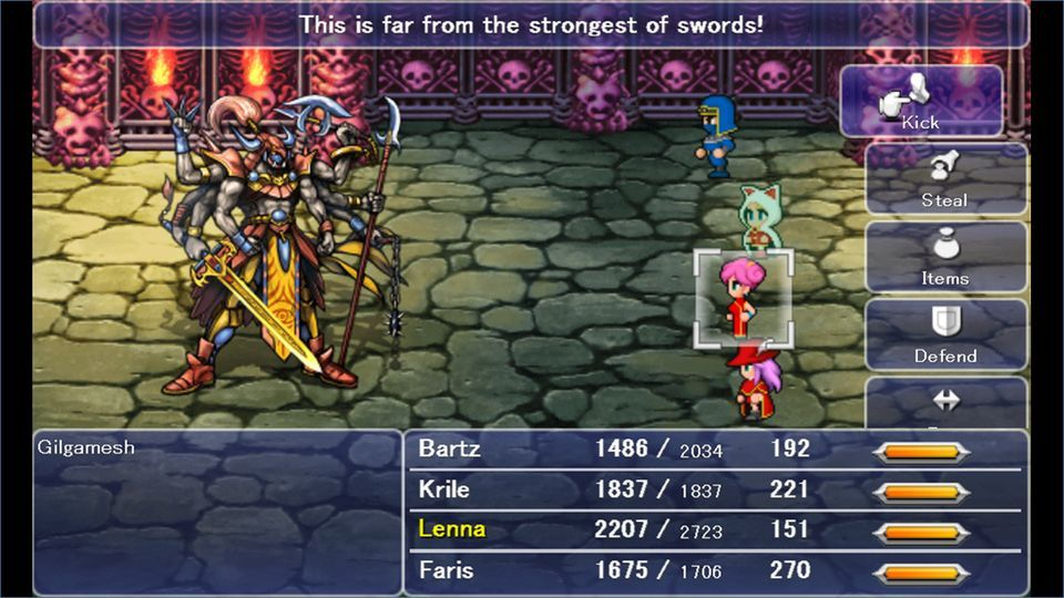 Final Fantasy 5 Launches On Steam On Sept 24 Final Fantasy