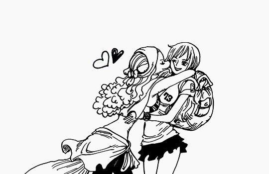 Nami Et Wanda Fictional Characters Piecings One Piece