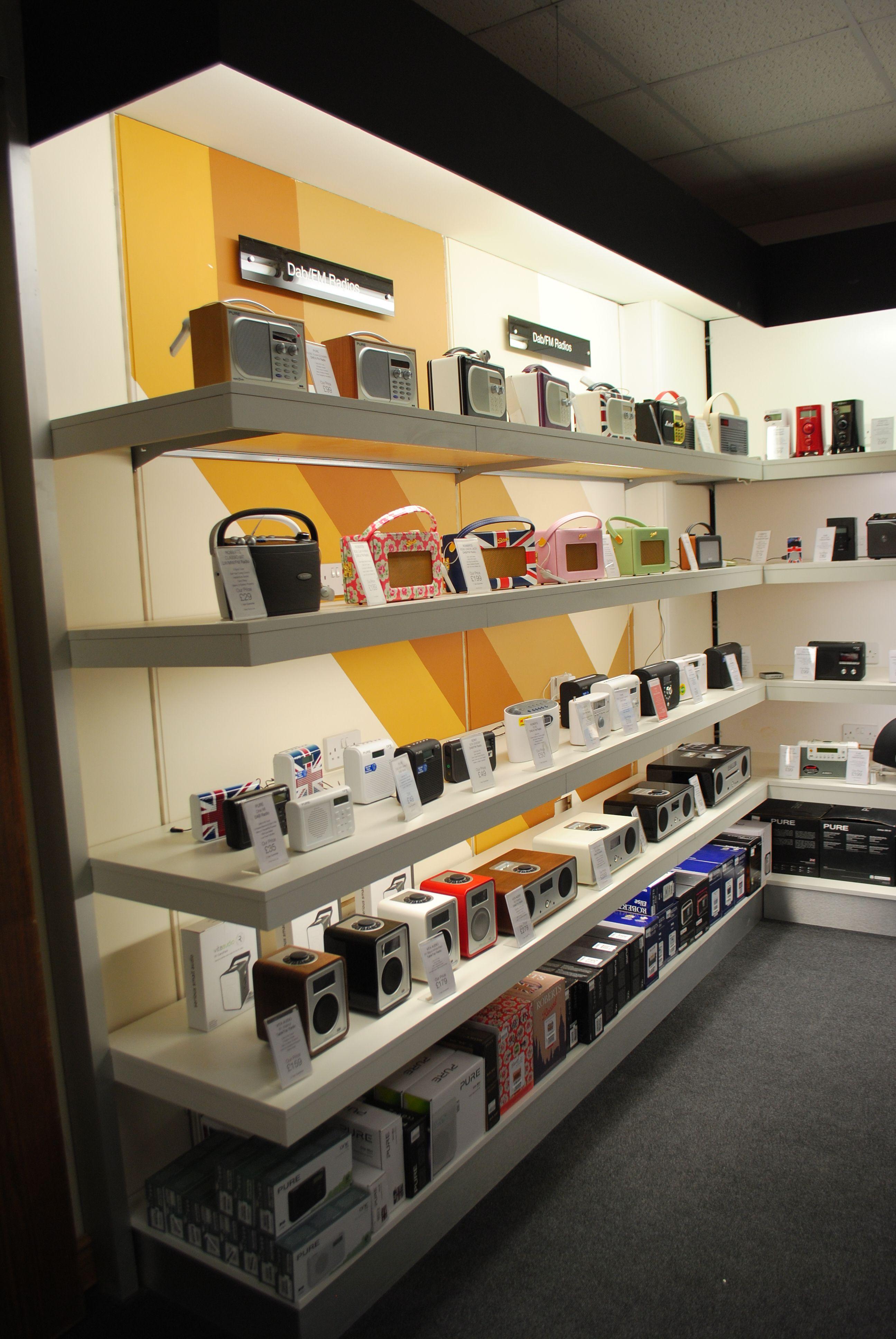 Radios Audio Technology Visual Merchandising Visual