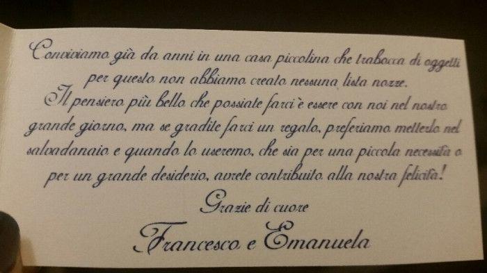 Frasi Busta Matrimonio.Frase Regalo In Busta Organizzazione Matrimonio Forum