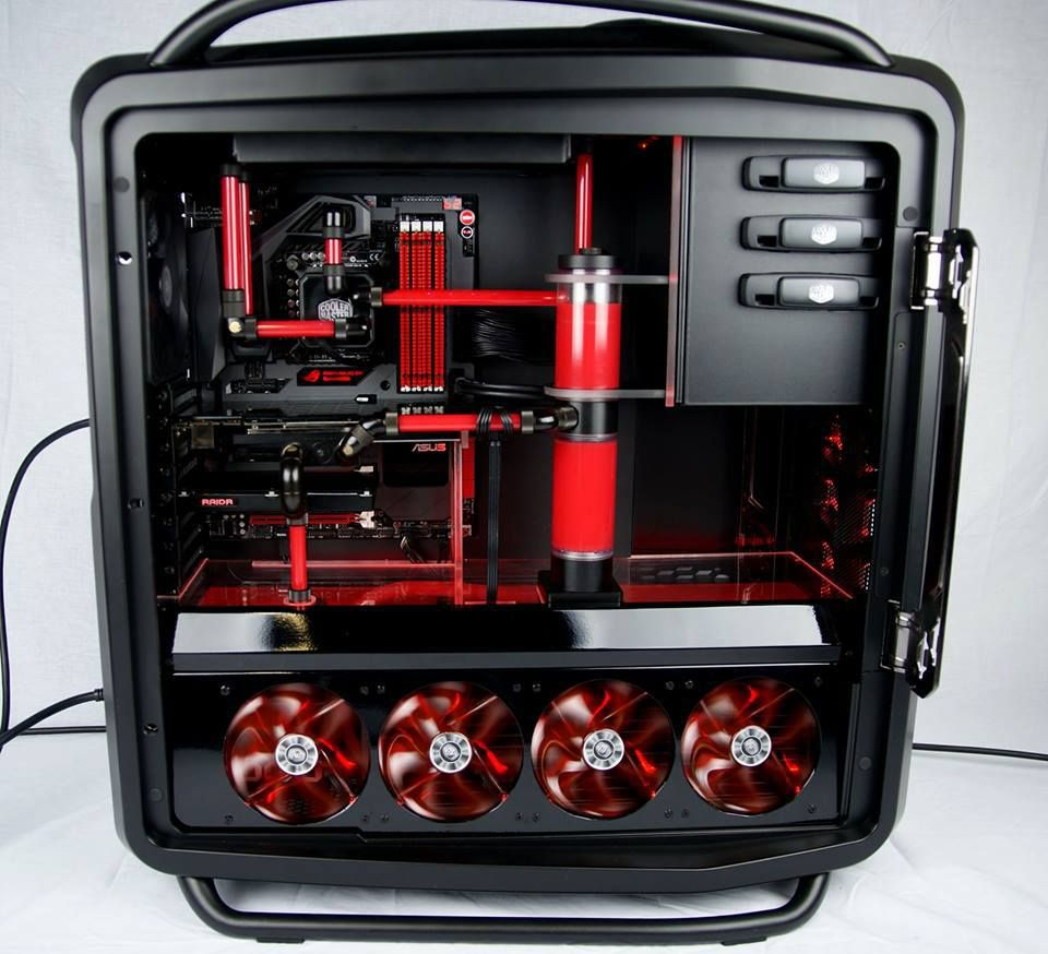 Richard Keirsgieter S Water Cooled Cosmos Ii With Asus Rog S