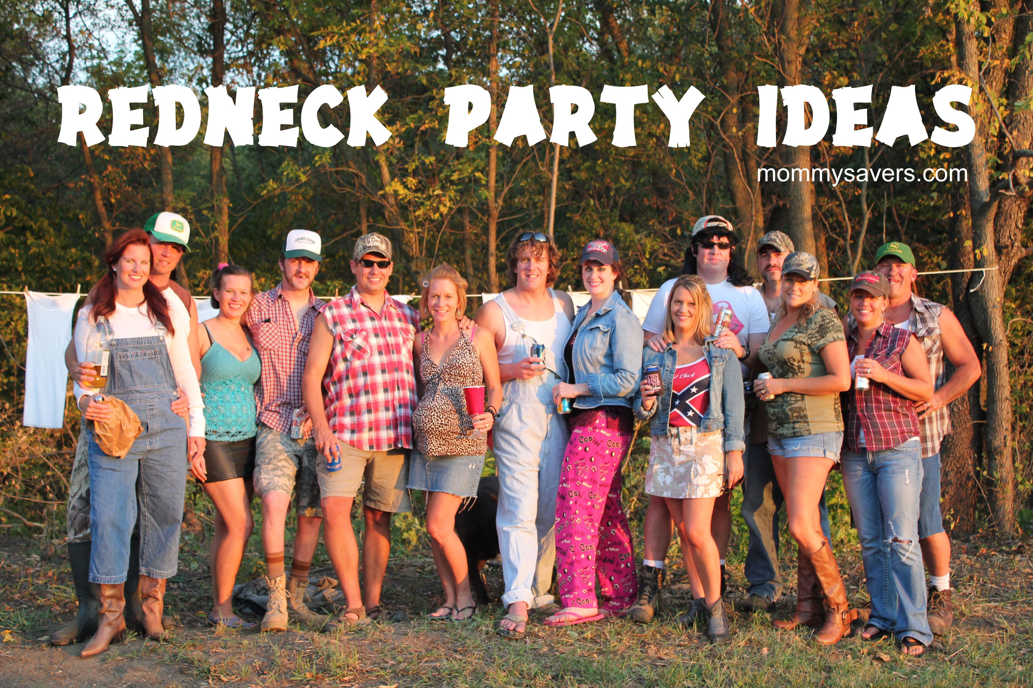 Redneck party Party Ideas Pinterest – White Trash Party Invitations