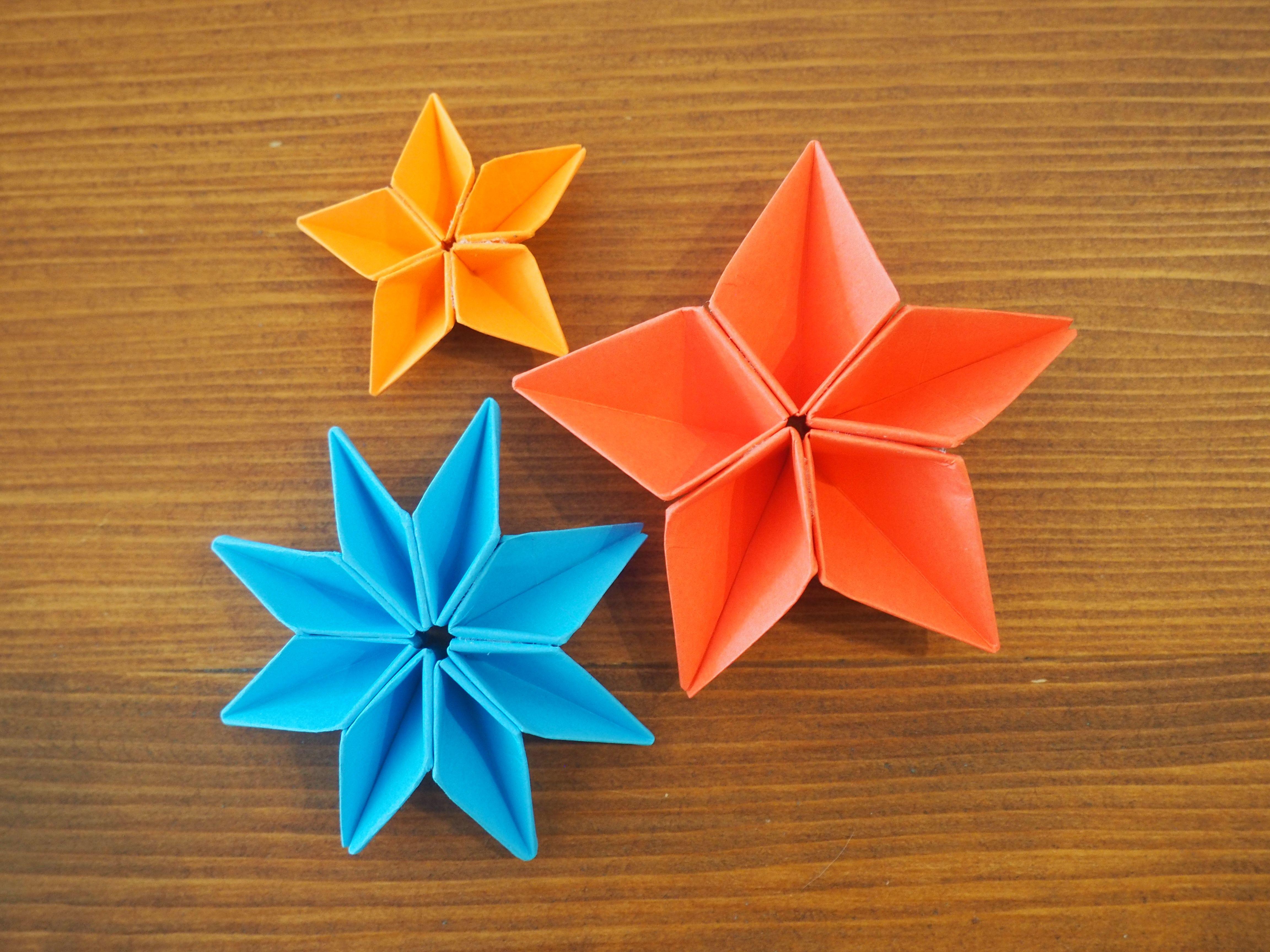 la fleur en origami est une jolie d coration vraiment pas. Black Bedroom Furniture Sets. Home Design Ideas